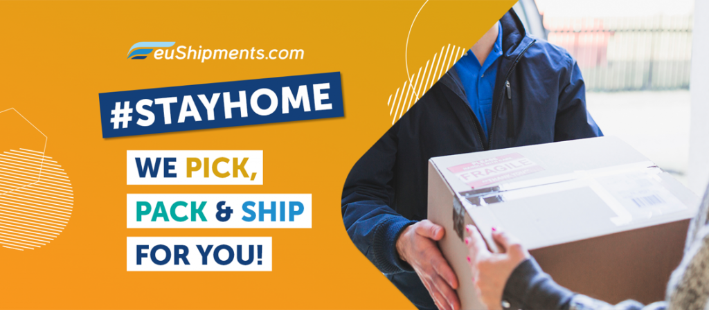 Остани си вкъщи - ние се грижим за доставките | euShipments